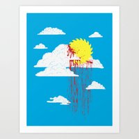 From a Lacerated Sky Art Print