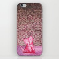 Origami Cat 1 iPhone & iPod Skin
