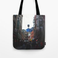 Rainy Day In Chinatown  Tote Bag