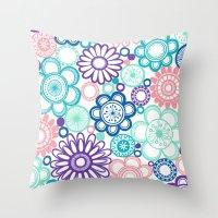 BOLD & BEAUTIFUL fresh Throw Pillow