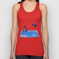 Leaping Dolphins Unisex Tank Top