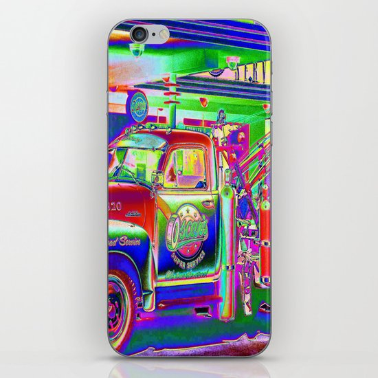 Hit by a Truck iPhone & iPod Skin