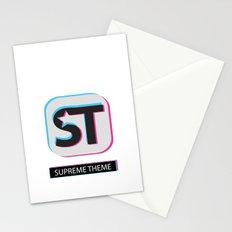 Supreme WordPress Theme Stationery Cards