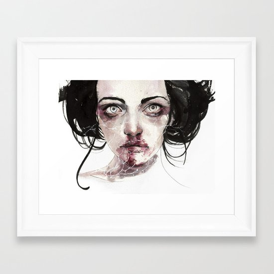 coldberry Framed Art Print