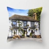 The Theydon Oak Pub Sket… Throw Pillow