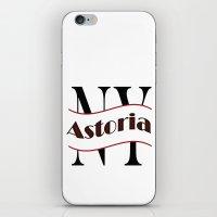Astoria iPhone & iPod Skin