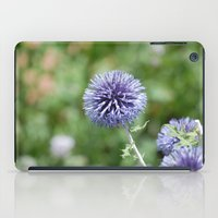 Purple Flowers iPad Case