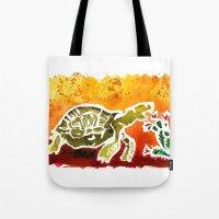 Tortoise Love Tote Bag