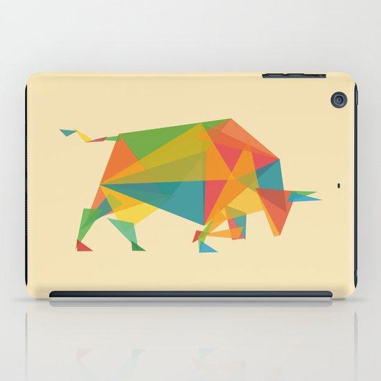 Fractal Geometric Bull iPad Case