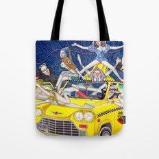 少女時代 - Girls Generation / Gouache Original A4 Illustration / Painting Tote Bag