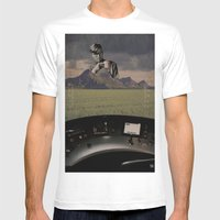 awakened to chaos Mens Fitted Tee White SMALL