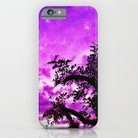 A dash of purple in the sky. iPhone 6 Slim Case