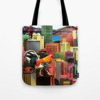 San Francisco City Chick… Tote Bag