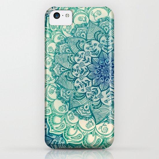 Emerald Doodle iPhone & iPod Case