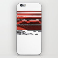 Red Terrain iPhone & iPod Skin