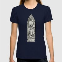 SoUL I. Womens Fitted Tee Navy SMALL