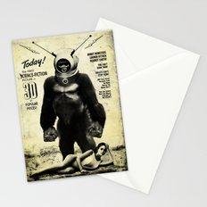 Robot Monster Stationery Cards