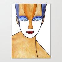 Aza (previous Age) Canvas Print