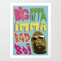 Biggie Smalls  Art Print