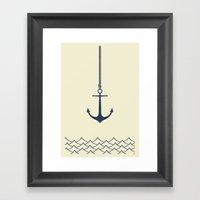 Anchors Away Framed Art Print