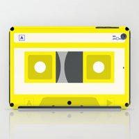 CMYK Cassette Tapes iPad Case