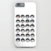 iPhone & iPod Case featuring flapper doodle emoji by kate gabrielle