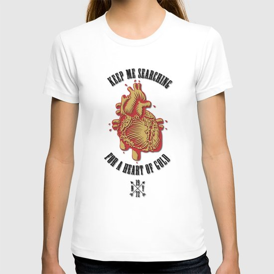 """Heart of Gold""  (""ANALOG zine"") T-shirt"