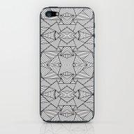 Abstract Mirror Black On… iPhone & iPod Skin