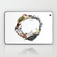 Bird Wreath Laptop & iPad Skin