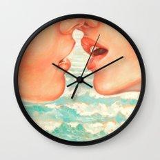 California Kiss Wall Clock