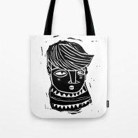 timide Tote Bag