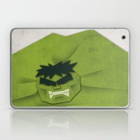 Paper Heroes - Hulk Laptop & iPad Skin