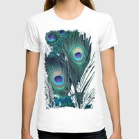 peacock T-shirts featuring Peacock by KunstFabrik_StaticMovement Manu Jobst