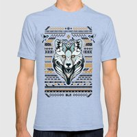 BLN Mens Fitted Tee Tri-Blue SMALL