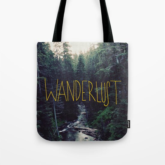 Wanderlust: Rainier Creek Tote Bag