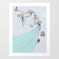 Skyfort Art Print