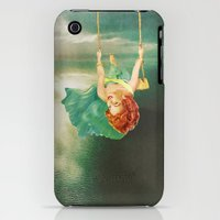 iPhone 3Gs & iPhone 3G Cases featuring Hanging On by Eugenia Loli