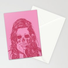 Skull Girl 1 Stationery Cards