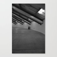 One trash can  Canvas Print