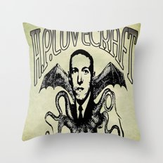 H.P. LOVECRAFT Throw Pillow