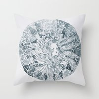 Seeing With Eyes Closed Throw Pillow