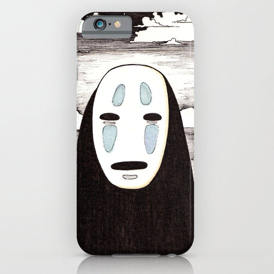 No Face iPhone & iPod Case