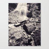 Water fall, Colorado Canvas Print
