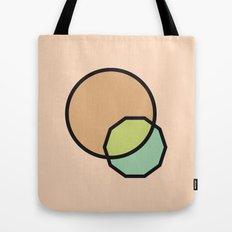 Shapes Illustration Tote Bag