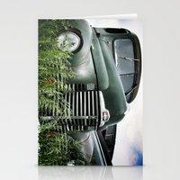 Iowa Truck Stationery Cards