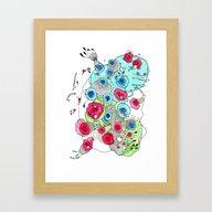 Micro Organism Framed Art Print