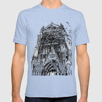 Notre Dame Mens Fitted Tee Tri-Blue SMALL