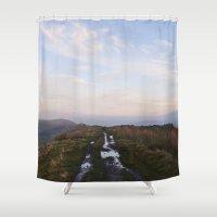 Rushup Edge At Sunset. D… Shower Curtain
