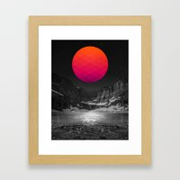 It Was Always There Framed Art Print