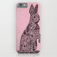 iPhone & iPod Case featuring Rabbit by Suburban Bird Designs